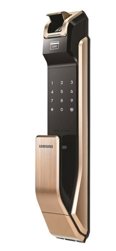 Samsung Biometric Push & Pull Digital Door Lock SHS-P718LMG/EN - (Gold)