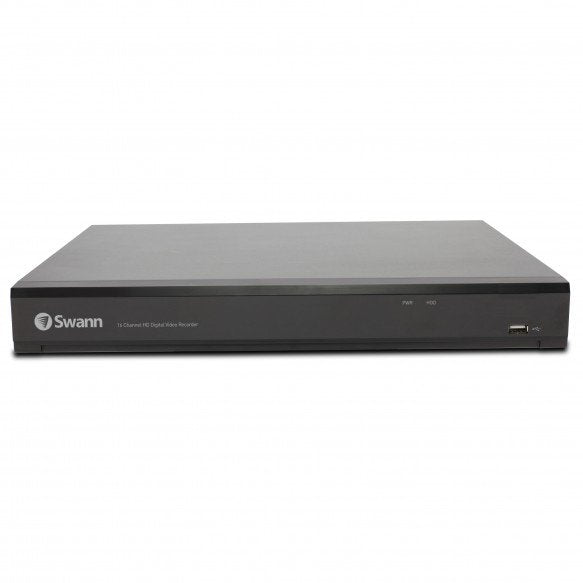 Swann 16 Channel 4K Ultra HD 2TB DVR with 8 x PRO-4KMSB True Detect