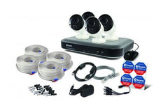 Swann 8 Channel Security System: 4K Ultra HD DVR-5580 with 2TB HDD & 4 x 4K Thermal Sensing Cameras PRO-4KMSB