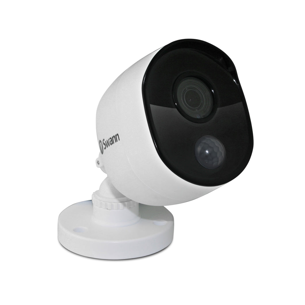 Swann Thermal Sensor Outdoor Security Camera: 1080p Full HD with IR Night Vision & PIR Motion Detection - SWPRO-1080MSB