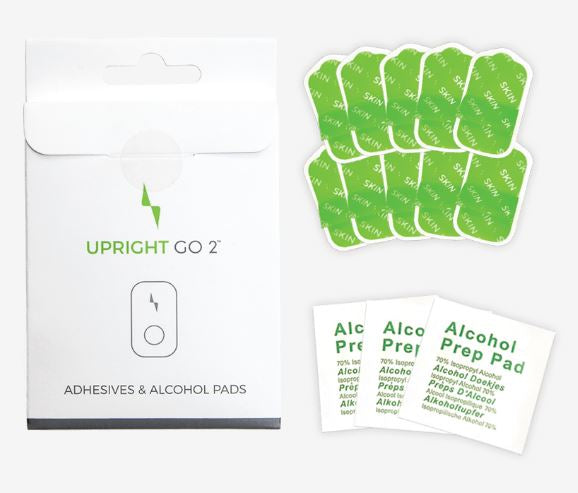 UPRIGHT GO 2 Adhesive 10 Pack