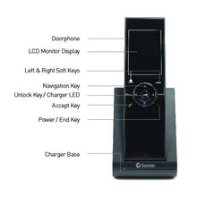 "Swann Wireless Intercom with Doorbell & 2.4"" Video Doorphone - DP890C"