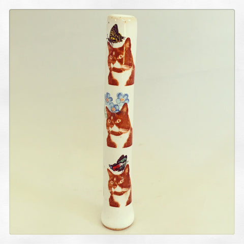 Monkey Time Tuxedo Cat Chillum