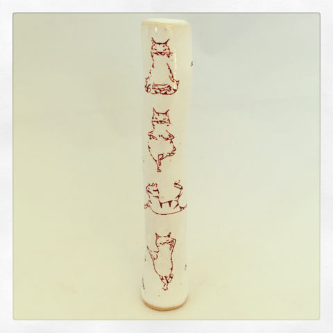 Cat Yoga Chillum