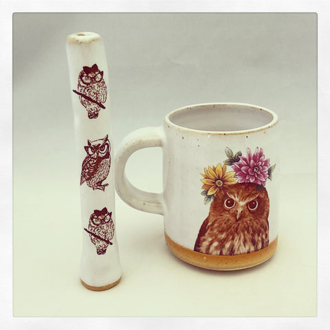 Talk to the Aminals Mr. Owl Wake & Bake Set