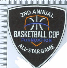 Morale Patch--Basketball Cop Foundation--2nd Annual All-Star Game