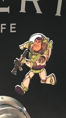 Sticker (Individual)--Gun Story--Buzz LightyeAR15