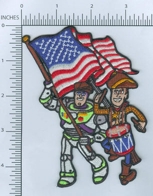 Morale Patch--HD--Patriot Special Edition (Buzz and Woody)