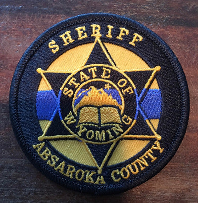 Morale Patch--LONG--Longmire Absaroka County Sheriff's TBL Badge