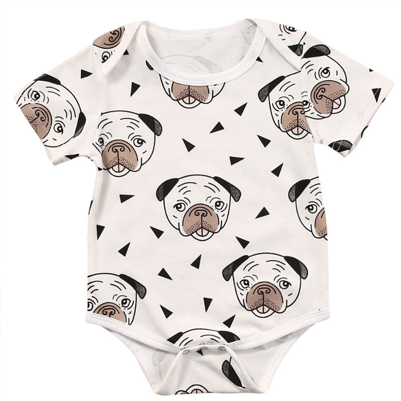 Cute Puppy Face Onesie
