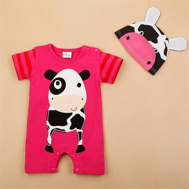 Cute Baby Boy & Girl Rompers