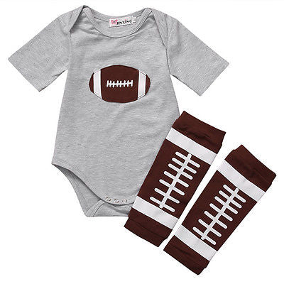 Cute Football 2 Piece Set