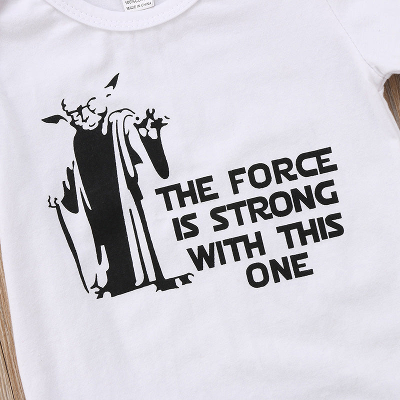 The Force Is Strong Onesie