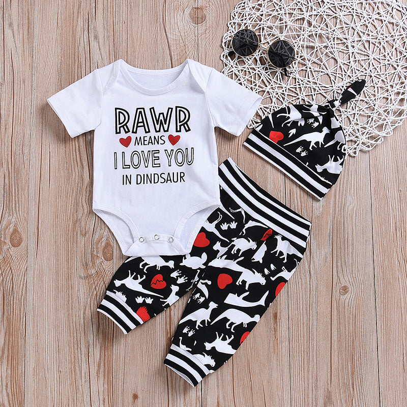 RAWR  Means I love You 3 Piece Set