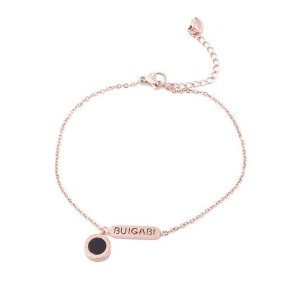 18k Rose Gold-Plated & Arylic 'Buigabi' Anklet