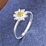 18k Gold-Plated & Sterling Silver Mum Ring - streetregion