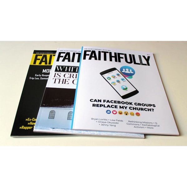 Faithfully Magazine Digital Subscription (4 Issues)