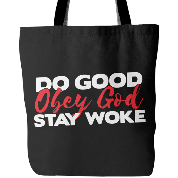 Bold Tote Bag With Inspiring Christian Message