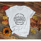 Grateful Thankful Blessed T-Shirt
