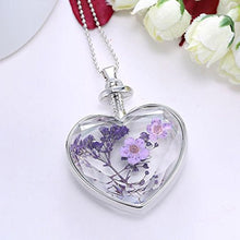 Romantic Hearts Necklace Floating Memory Living Pendant