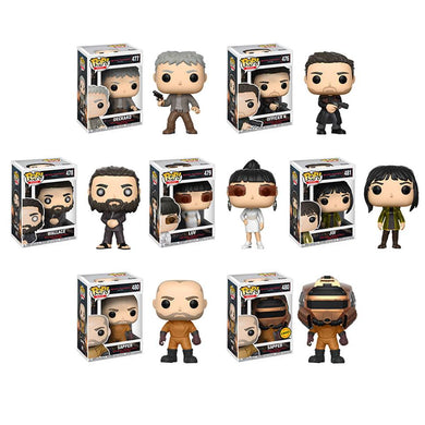 Complete Set of 7 - Blade Runner 2049 - Funko Pop Vinyl Figure