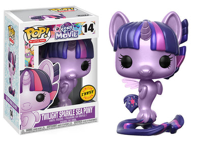 Twilight Sparkle Sea Pony (chase) - My Little Pony Movie - Funko Pop Vinyl Figure