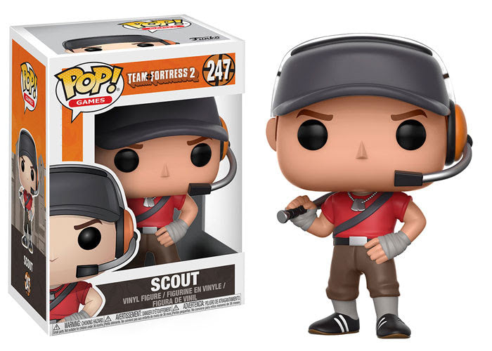 Scout - Team Fortress 2 - Funko Pop Vinyl Figure OCTOBER