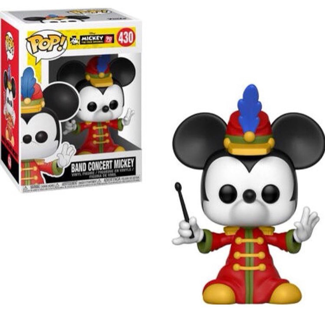 Band Concert Mickey - Mickey's 90th Anniversary - Disney Funko Pop! Vinyl Figure - FALL