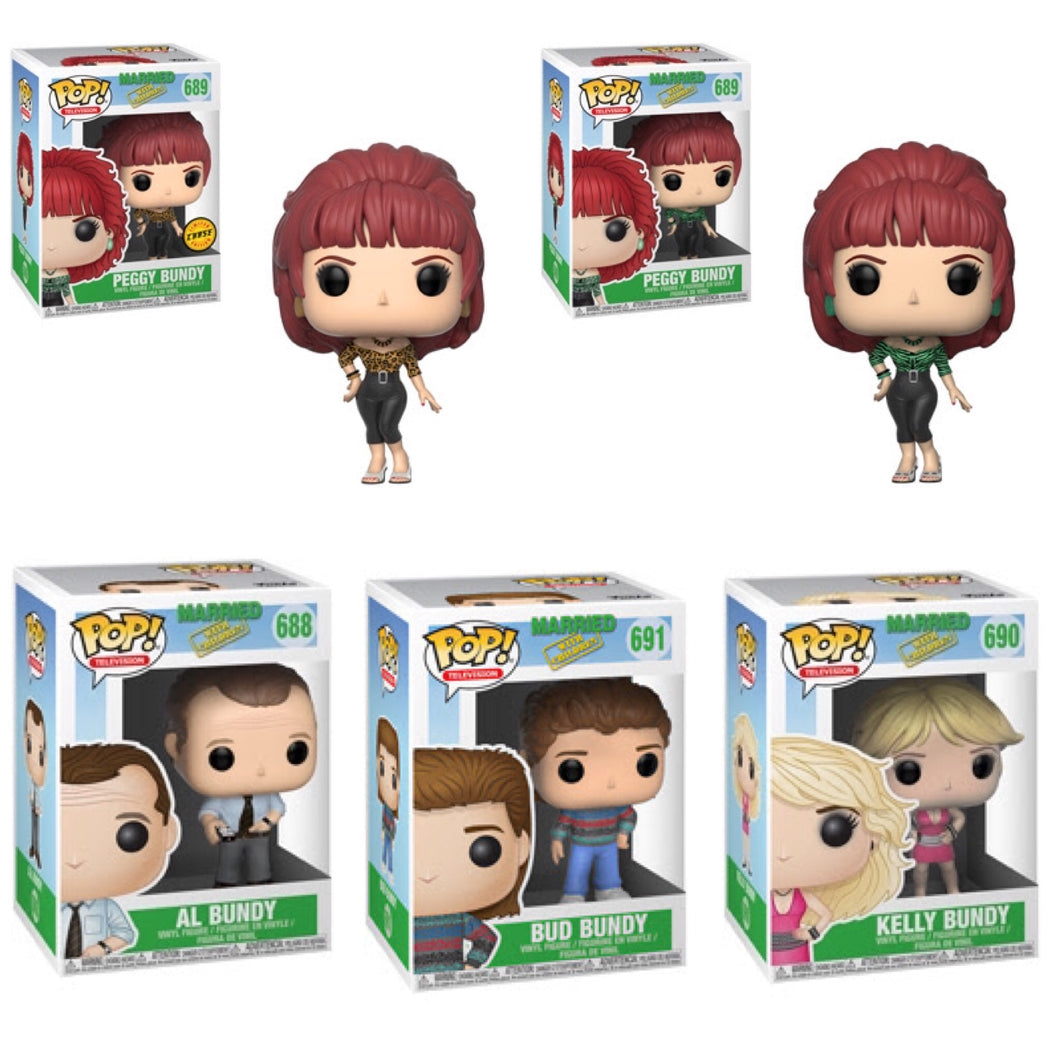 Set of 5 - Married With Children - Funko Pop Vinyl OCTOBER