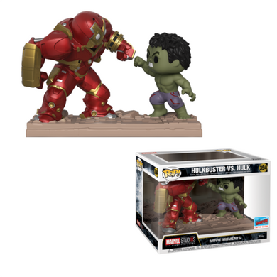 Hulkbuster vs Hulk - Marvel Movie Moment - 2018 NYCC Exclusive - Funko Pop! Vinyl Figure - OCTOBER