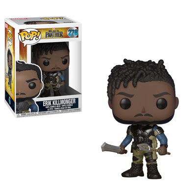 Erik Killmonger - Black Panther - Funko Pop Vinyl Figure - JANUARY