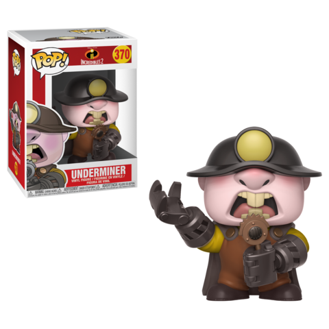 Underminer - Disney The Incredibles 2 - Funko Pop Vinyl - MAY