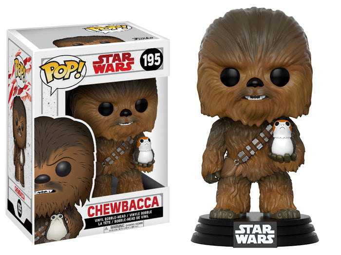 Chewbacca - Star Wars The Last Jedi - Funko Pop Vinyl Figure