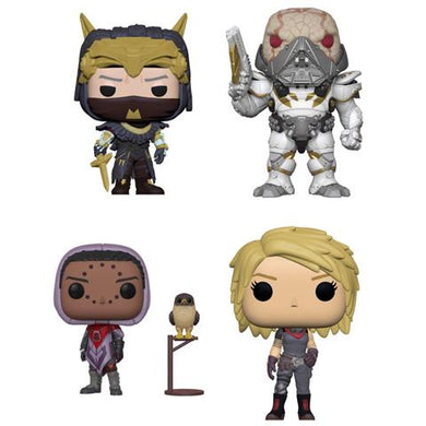 Complete Set of 4 - Destiny Series 2 - Funko Pop Vinyl Figures - 2018
