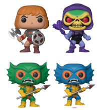 Complete Set of 8 - Masters of the Universe - Funko Pop Vinyl - JANUARY
