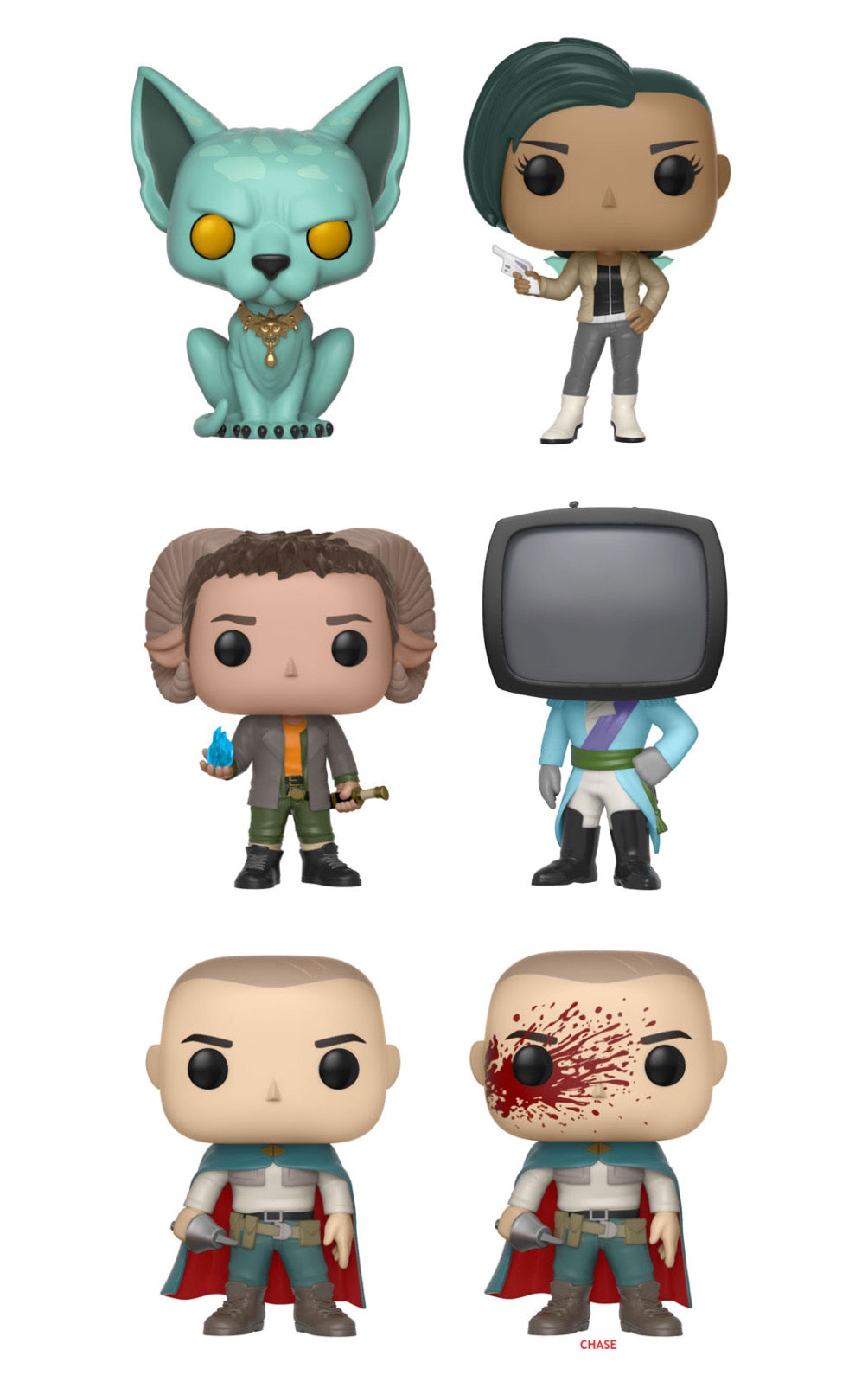 Complete Set of 6 - Saga - Funko Pop Vinyl Figures - JANUARY