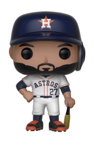 Jose Altuve - MLB Houston Astros - Funko Pop! Vinyl Figure - MAY