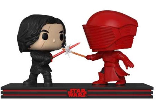 Kylo Ren and Praetorian Guard - Star Wars The Last Jedi - Funko Pop Vinyl Movie Moments - 2018