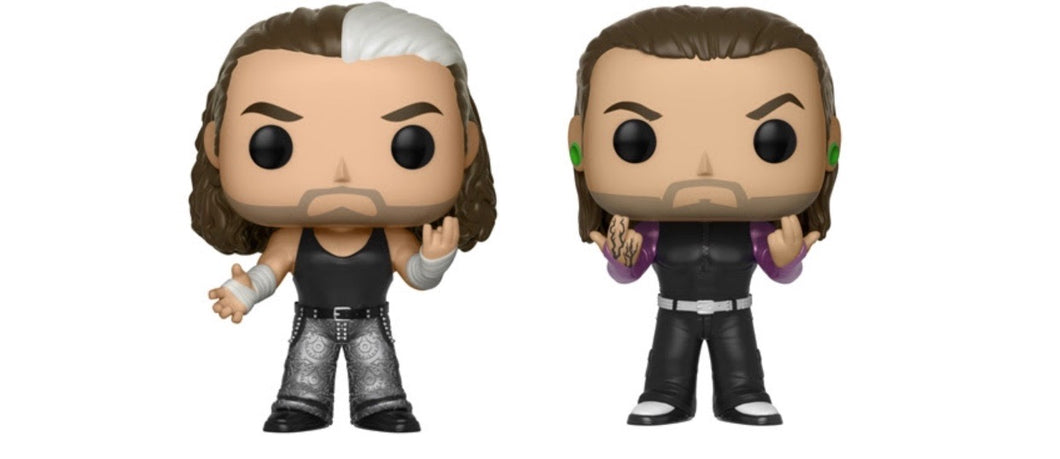 The Hardy Boys (2 Pack) - WWE - Funko Pop Vinyl Figure - JUNE