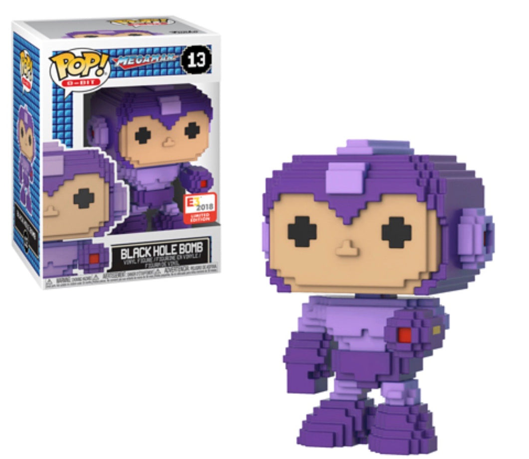 Black Hole Bomb - Mega Man 8 Bit - E3 Exclusive Funko Pop Vinyl JULY