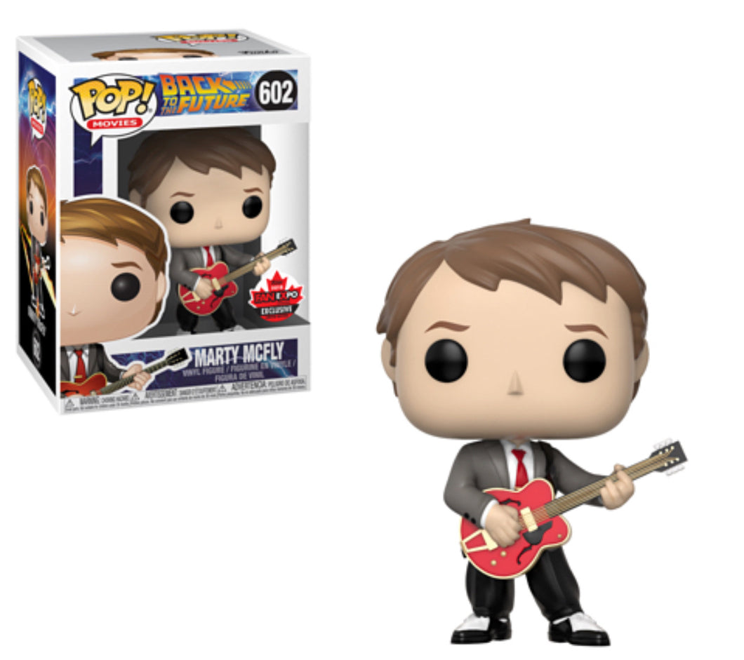 Marty McFly - Back to the Future - Canada Fan Expo Exclusive Funko Pop Vinyl - SEPTEMBER