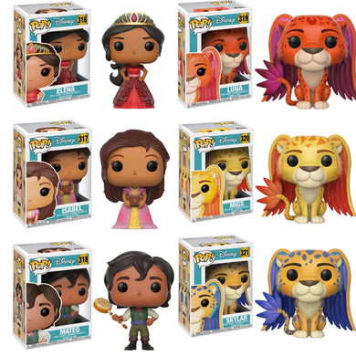 Complete Set of 6 - Elena of Avalor - Funko Pop Vinyl Figures - OCTOBER