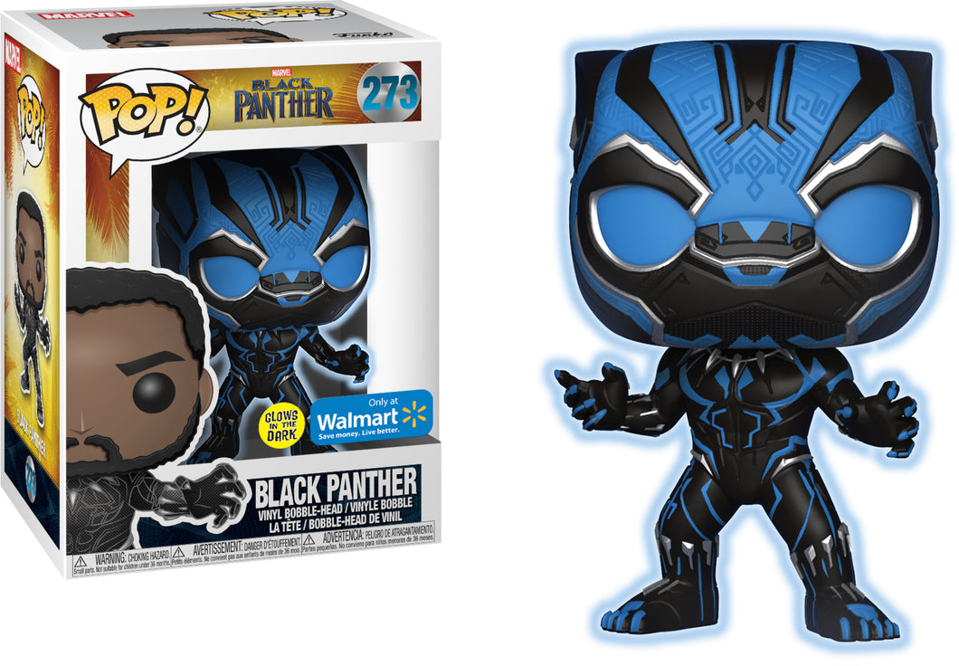 Black Panther - GITD - WalMart Exclusive - Funko Pop Vinyl