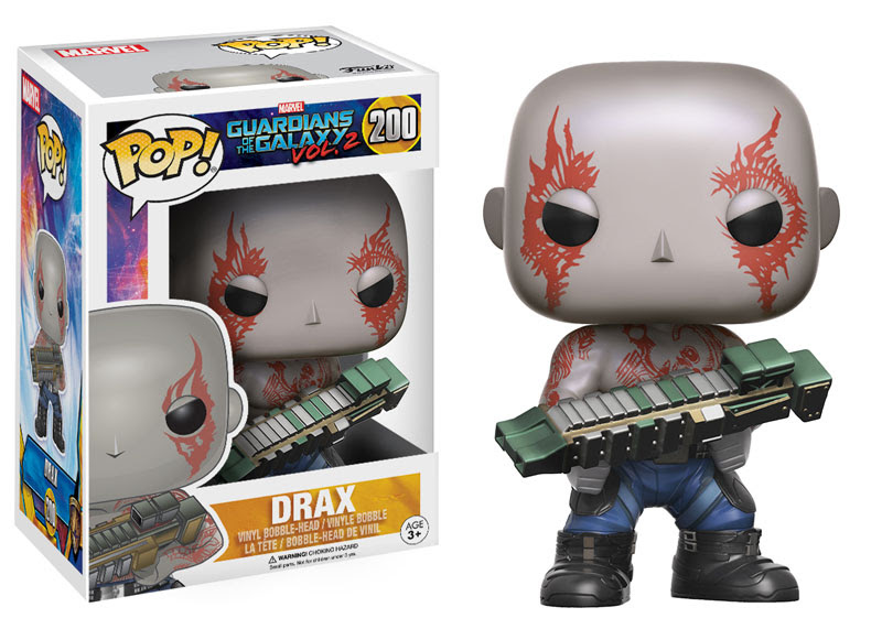 Drax - Guardians of the Galaxy Vol 2 - Funko Pop! Vinyl Figure
