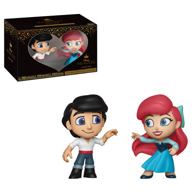 Ariel and Eric - Disney The Little Mermaid - Funko Mini Vinyl Figures - JANUARY
