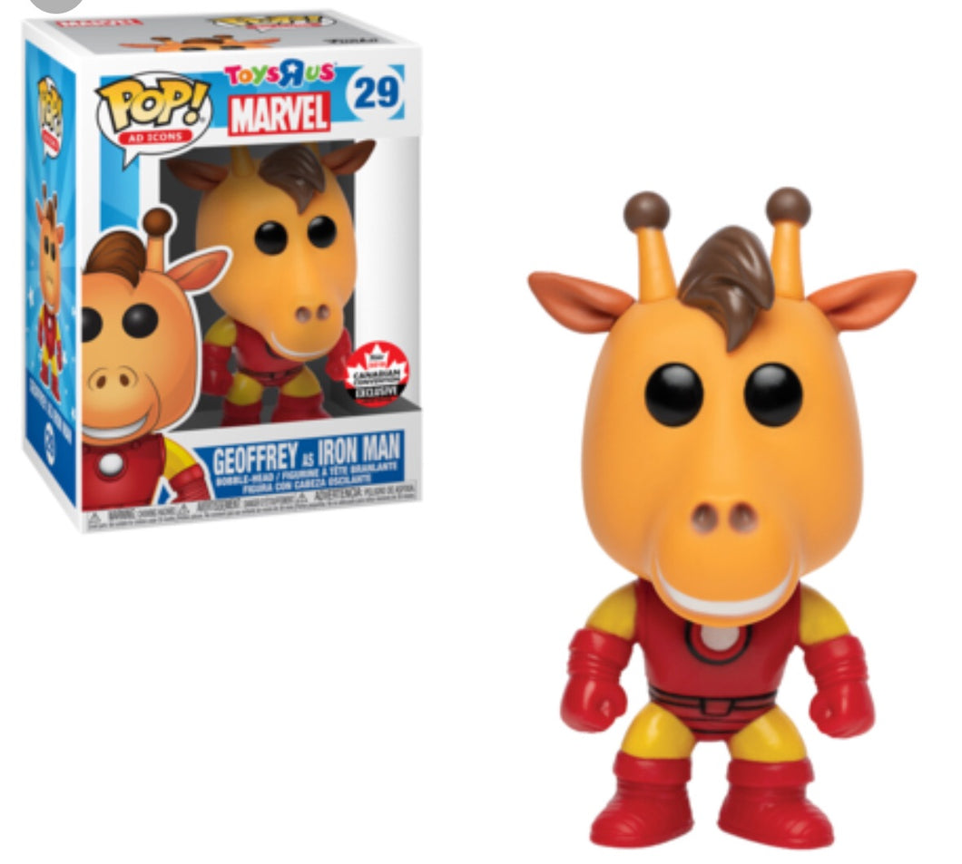 Geoffrey as Iron Man - Canada Fan Expo Exclusive Funko Pop Vinyl - SEPTEMBER