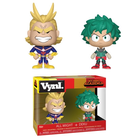 All Might and Deku- My Hero Academia - Funko Vynl 2 Pack DECEMBER