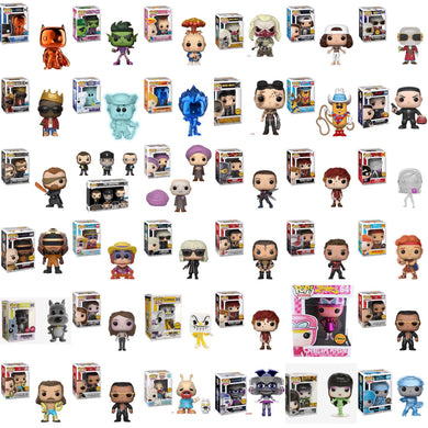 2018 NYCC/CHASE Super Mystery Box of 2 Random Funko Pop Vinyl Figures - Guaranteed 2018 NYCC or Chase Pop!