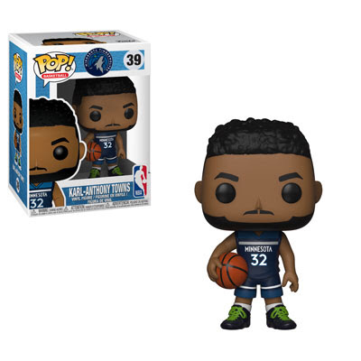 Karl Anthony-Towns - Minnesota Timberwolves NBA - Funko Pop Vinyl Figure - DECEMBER