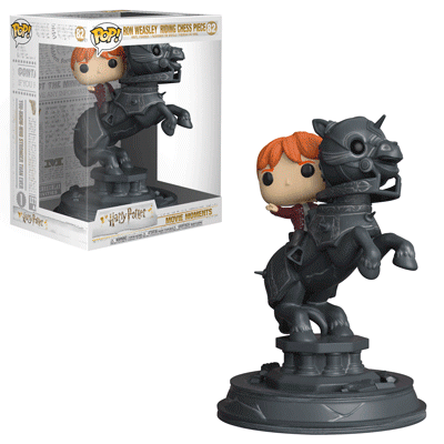 Ron Riding Chess Piece - Harry Potter Movie Moments - Funko Pop! Vinyl Figure - DECEMBER